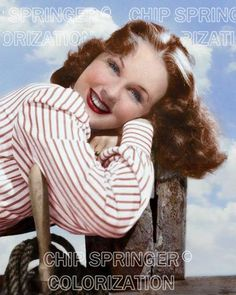 DEANNA DURBIN POSING ON A POST 8X10 BEAUTIFUL COLOR PHOTO BY CHIP SPRINGER. Featured Ebay Listing. Please visit my Ebay Store, Legends of the Silver Screen, at http://legendsofthesilverscreen.com to see the current listings of your favorite Stars now in glorious color! Thanks for looking and check out my Youtube videos at https://www.youtube.com/channel/UCyX926rA5x4seARq5WC8_0w