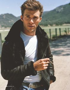 'Meet the New Boss': Scott Eastwood para British GQ Noviembre 2014