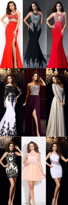 2016 QueenaBelle Evening Dresses On Sales! 100% Handmade Service!