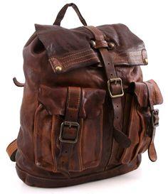 Campomaggi Lavata Backpack Leather cognac