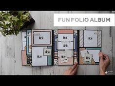 Mini Albums, Diy Mini Album, Mini Album Tutorial, Mini Scrapbook Albums, Scrapbook Layouts, Diy Crafts For Girls, Handmade Scrapbook, Mini Scrapbooks, Tutorials
