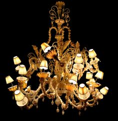 Hand made chandeliers