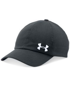 de30095ef55 This solid cap from Under Armour has a ponytail-friendly adjustable back and  HeatGear band