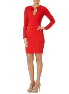 Kardashian Kollection rotes Kleid