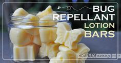 Bug Repellent Lotion Bars