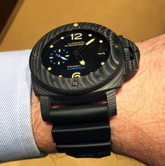 Officine Panerai Luminor Submersible 1950 Carbotech PAM00616   Time and Watches
