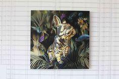 Idol 90cm x 90cm, olej, płótno, 2013 90cm x 90cm, oil, canvas, 2013