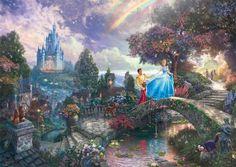 Thomas Kinkade: Disney Cinderella, 1000 palaa 15,90€