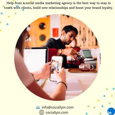 Social Media Agency - The Best Marketing & Advertising Solutions Social Media Company, Social Media Marketing Agency, Influencer Marketing, Marketing And Advertising, Build Your Brand, Management Company, New Relationships, Button, Business