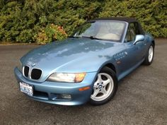BMW Z3 Convertible ~ This was my car but in white