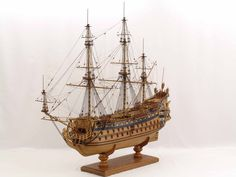 Ship model French SOLEIL ROYAL