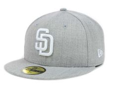 San Diego Padres New Era MLB Heather Basic 59FIFTY Cap Hats