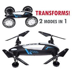 CyberTech 2 in 1 (Car and Fly) RC Racing Car RC Quadcopter Drone RTF 2.4GHz 6-Gyro System,Support Headless flying mode,2 Li-Polymer Batteries included! WiFi camera and mobile are sold separately - http://www.midronepro.com/producto/cybertech-2-in-1-car-and-fly-rc-racing-car-rc-quadcopter-drone-rtf-2-4ghz-6-gyro-systemsupport-headless-flying-mode2-li-polymer-batteries-included-wifi-camera-and-mobile-are-sold-separately/