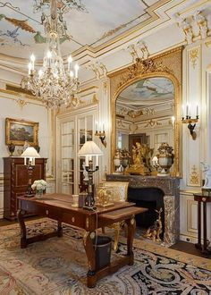 French Architecture, Paris, Shimmer N Shine, French Interior, Royal Palace, Decoration, Interior Decorating, Home, Home Ideas
