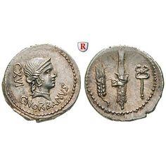 Römische Republik, C. Norbanus, Denar 83 v.Chr., vz-st: C. Norbanus 83 v.Chr. Denar 20 mm 83 v.Chr. Rom. Büste der… #coins #numismatics