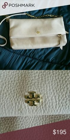 Tory burch crossbody Genuine light pink pebbled leather Tory burch chain crossbody NO TRADES Tory Burch Bags Crossbody Bags