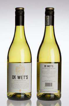 De Wet'sWine - The Dieline -