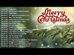Christmas Music 2018 - Nonstop Best Classic Christmas Songs Of All Time Old Christmas Songs, Merry Christmas Song, Popular Christmas Songs, Classic Christmas Songs, Christmas World, Christmas Night, Little Christmas, Christmas Traditions, Michael Buble Albums