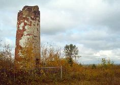Park Point -- Duluth - The Park Point Trail passes the ruins of an 1855 lighthouse.