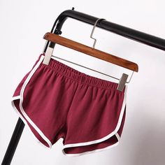 Summer Shorts Women Shorts Workout Waistband Skinny Short