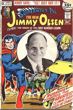 Supermans Pal, Jimmy Olsen n°141, September 1971, cover by Jack Kirby and Neal Adams.