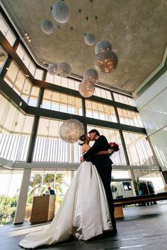 Starry Night - Sapphire and Blush Astronomy Wedding Inspiration - Hey Wedding Lady. Planetary chandelier.