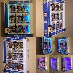 Custom POP Display Case with LED Lights - Awesome Toyz