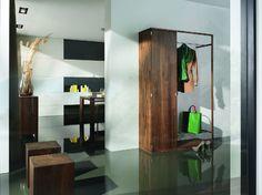 Cubus předsíňový nábytek v tmavém odstínu / vestibule furniture