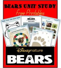 This Disneynature Bears Printables includes over 20 pages. The activity book will keep your kids learning about bears for several weeks.  What an awesome