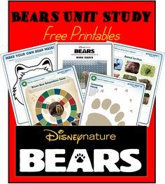 FREE:  Disneynature BEARS Activity Sheets
