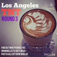 Find out who poured this winning #latteart swan + @LosAngelesTNT photo gallery now on http://LACoffeeClub.com