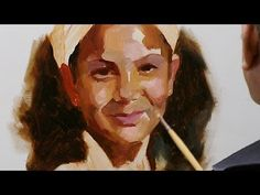 How to paint a portrait in oil paint. Short summary. - YouTube