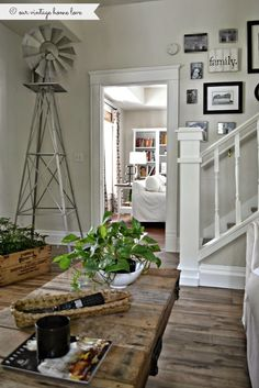 The current farmhouse design is not only for rooms. The actual farm house design entirely reflects the entire style of the home and the family tradition also. This totally reflects the entire style… Vintage Farmhouse, Farmhouse Design, Farmhouse Style, Farmhouse Decor, Modern Farmhouse, Small Basement Remodel, Basement Remodeling, Basement Plans, Basement Storage