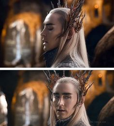 """Lee Pace as Thranduil Wasn't he on """"Pushing Daisies""""?"""