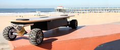 ZBoard, the Weight-Sensing Electric Skateboard