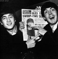 John and Paul.... <3