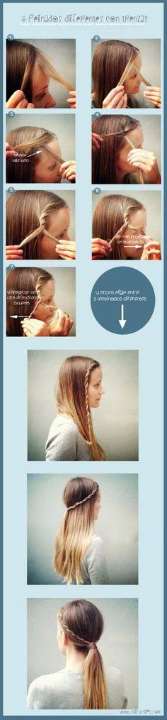 Peinados medievales para niñas