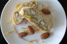 Vittoria's Traditional Italian Biscotti with Almonds and Orange Zest