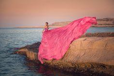 Chris Netton Photography Model: Linda Guřanová, Wardrobe: Alice Andrews Designs, Rental,  Styling: Jean Fernand Location: Malta—