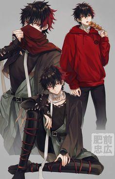 Hot Anime Boy, Anime Boys, Dark Anime Guys, M Anime, Cool Anime Guys, Handsome Anime Guys, Anime Demon, Anime Fantasy, Anime Boy Zeichnung