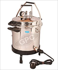 Pressure Cooker Type Autoclaves: GPC Medical Ltd. is a leading pressure cooker type portable autoclave sterilizer company from India. We are manufacturer, supplier & exporter of Pressure Cooker Type Autoclaves, Indian Autoclaves Pressure Cooker, Autoclave Portable Pressure Cooker Type, Pressure Cooker Type Autoclaves.