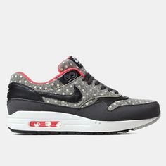 Nike Air Max 1 LTR Premium Shoes - Anthracite/Black/Granite