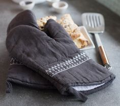 Oven Mitts by Lia Griffith. Make It Now with the Cricut Explore machine in Cricut Design Space.