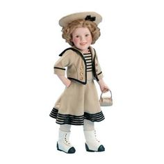 Wee Willie Winkie Shirley Temple Collector Doll - The Danbury Mint