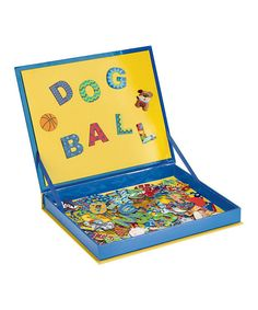 Blue Spell & Count Magnetic Play Board | zulily