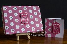 Just a little box and co'ordinating card