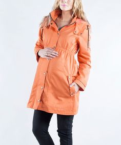 Look what I found on Nectarine Spring Shirred Maternity Coat by Maternity Coat, Spring Maternity, Baby Momma, Bump Style, Coats For Women, Raincoat, That Look, Jackets, Clothes