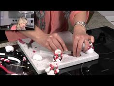 Cute Snowman - Polymer Clay Tutorials