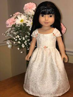 Dress made with Avery Lane Ella dress pattern found on Etsy Girls Dresses, Flower Girl Dresses, Journey Girls, Dress Making, Wedding Dresses, Pattern, Etsy, Fashion, Dresses Of Girls
