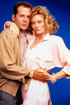 Moonlighting - Model-turned-actress Cybill Shepherd played model-turned-detective Maddie Hayes, opposite then-newcomer Bruce Willis.